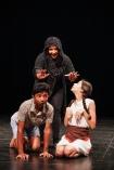 Hansel (Anesh), Gretel (Martha) & la sorcière (Estelle)